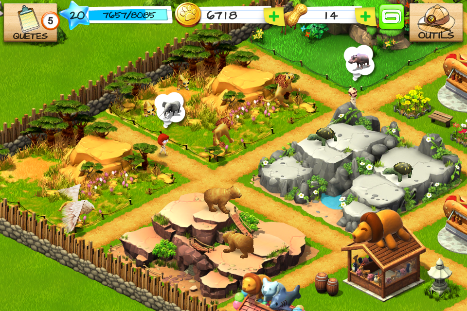 zoo jeux