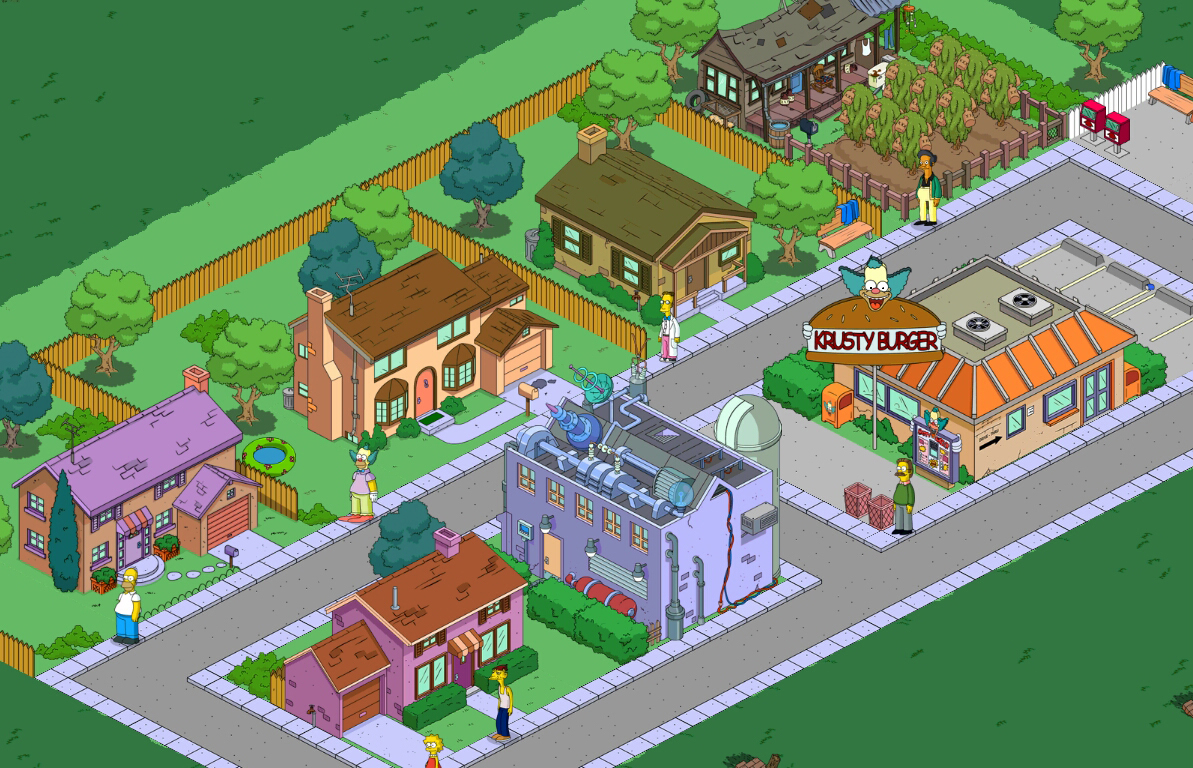 Les Simpson Springfield Donuts Illimit Android  My Blog