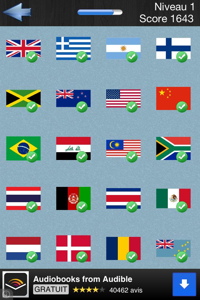 logo quiz drapeau