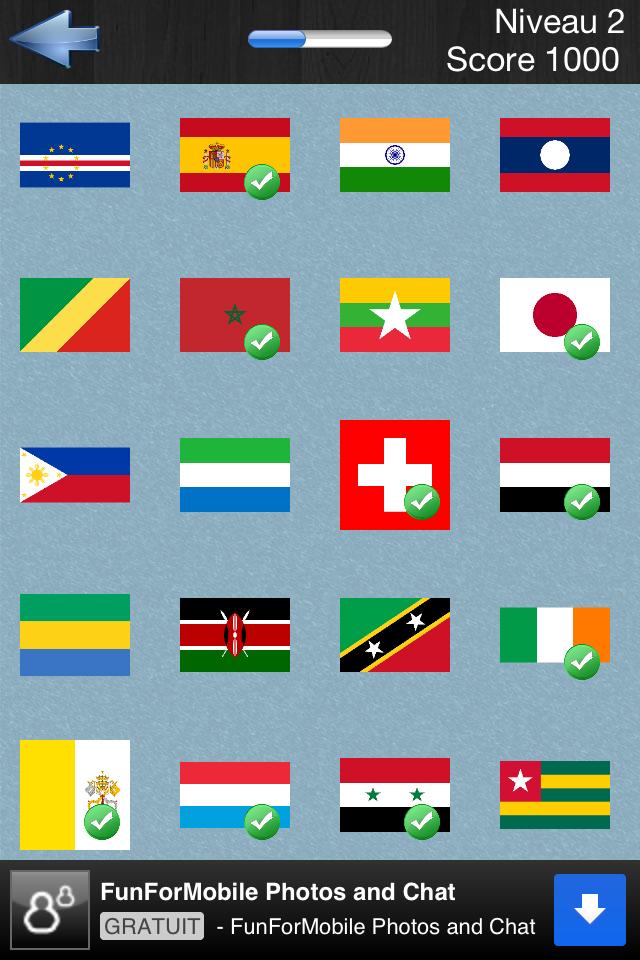 logo quiz drapeau du monde solution