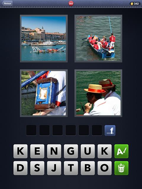 4 images 1 mot 355 rivi re bateau bois chapeaux android iphone - Port irlandais en 7 lettres ...