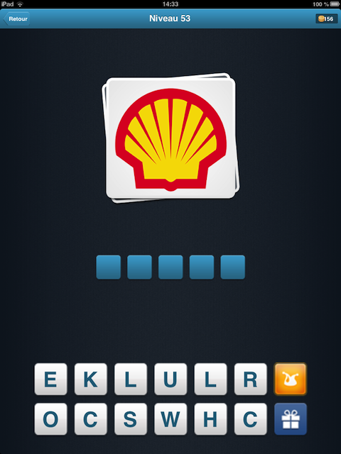 logo quiz coquillage