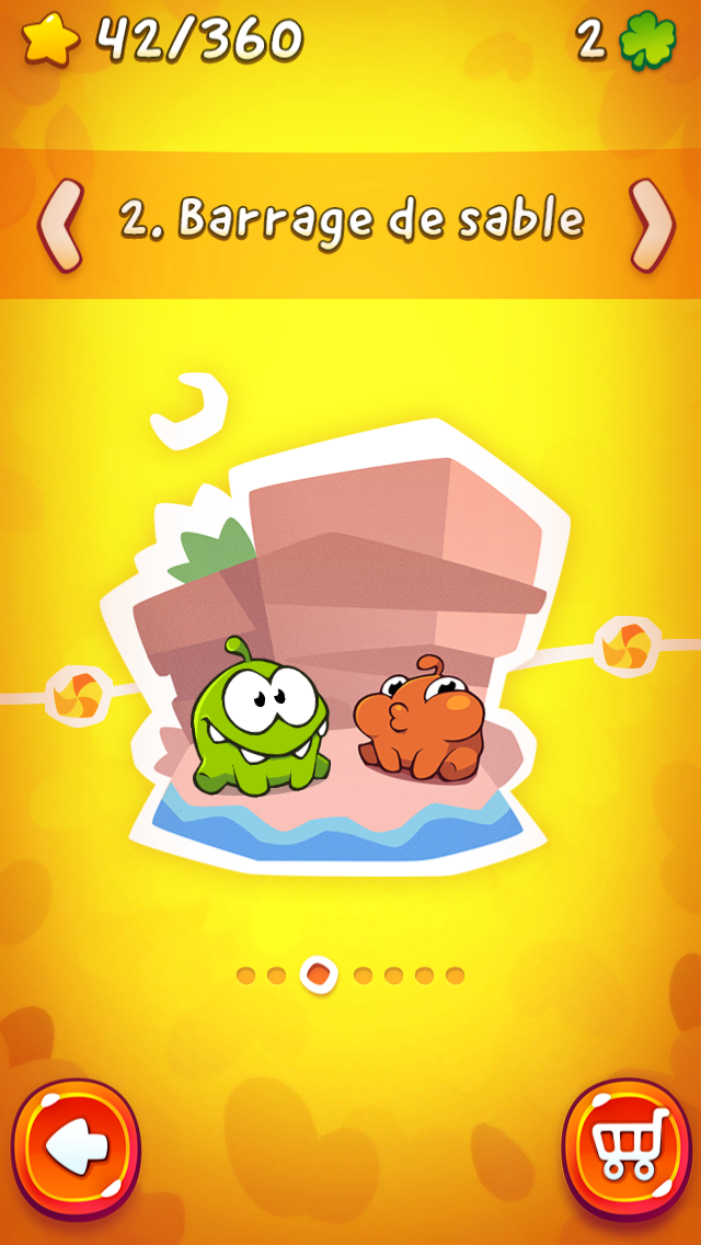 Cut the Rope 2-10