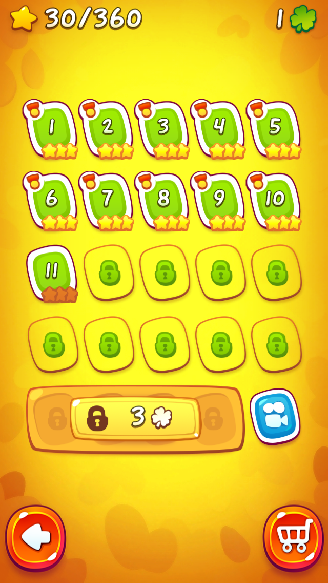 Cut the Rope 2-8