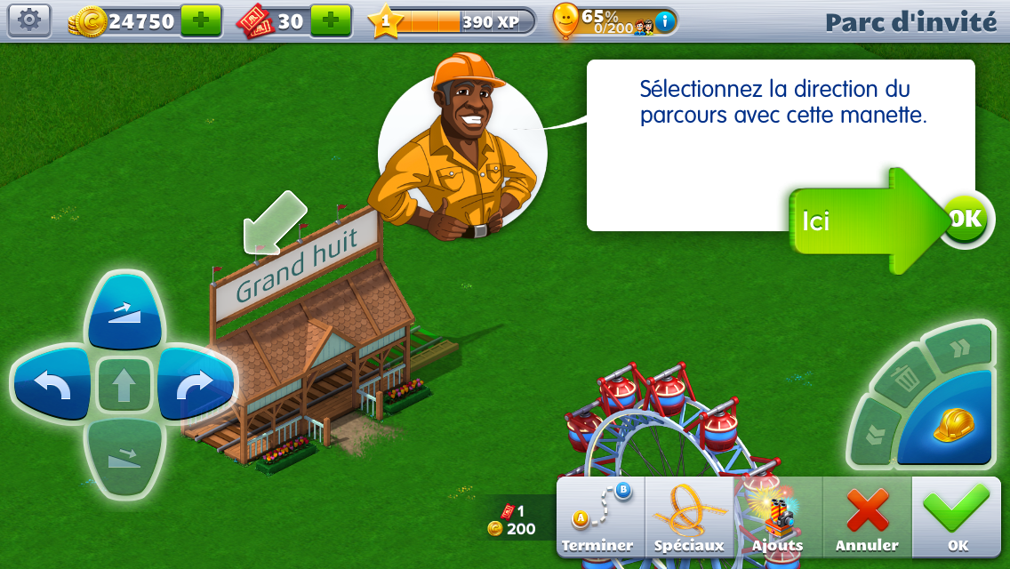 RollerCoaster <b>Tycoon</b> <b>4</b> Mobile 1.13.5 pour Android ...