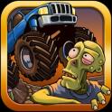 Course sur route de zombie