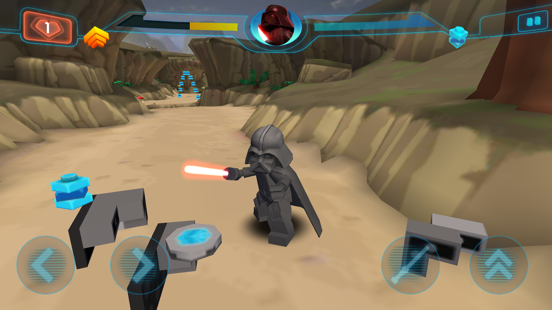 Multiplayer? LEGO Star Wars: The Complete Saga - GameFAQs