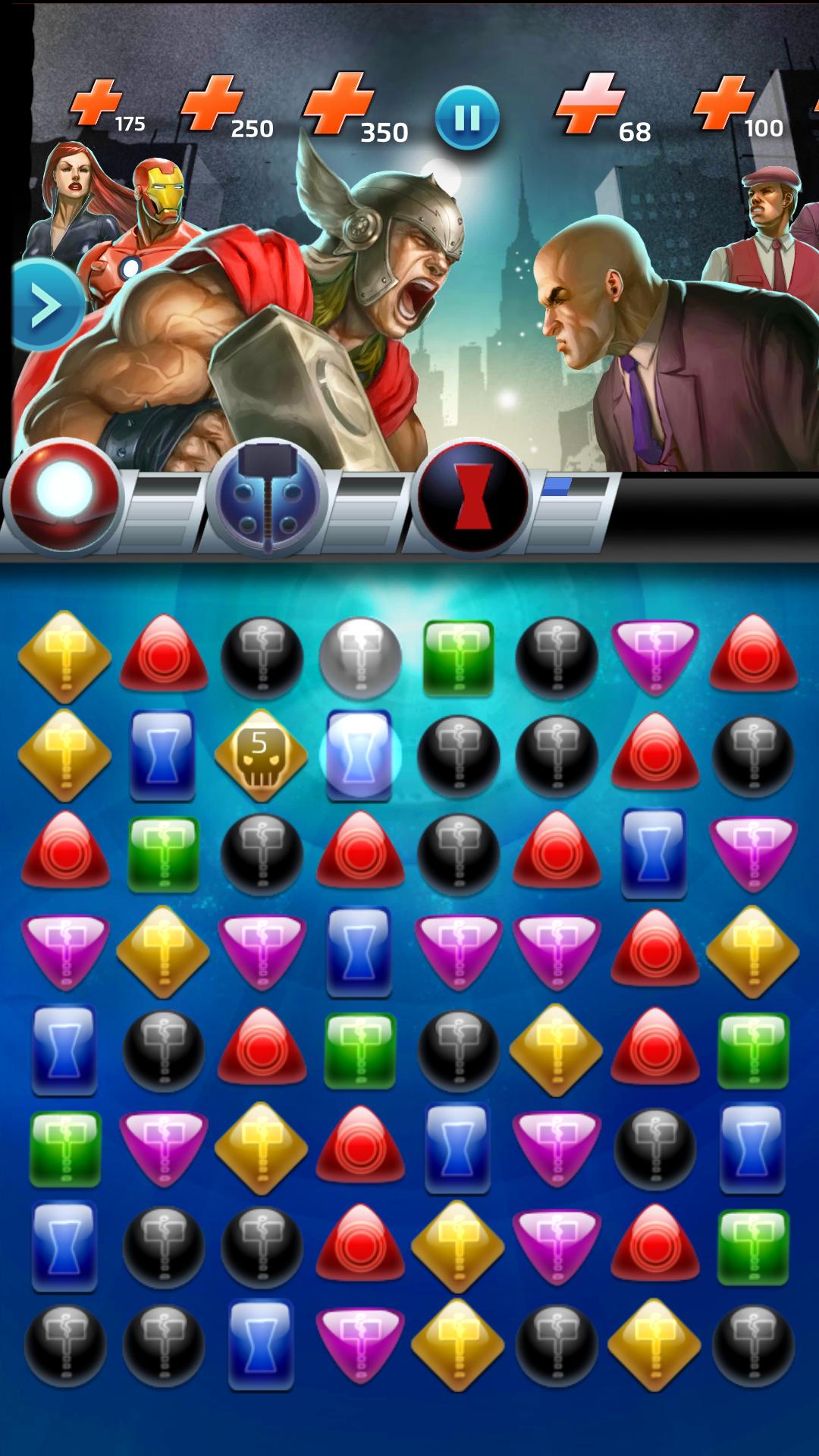 Marvel Puzzle Quest-4
