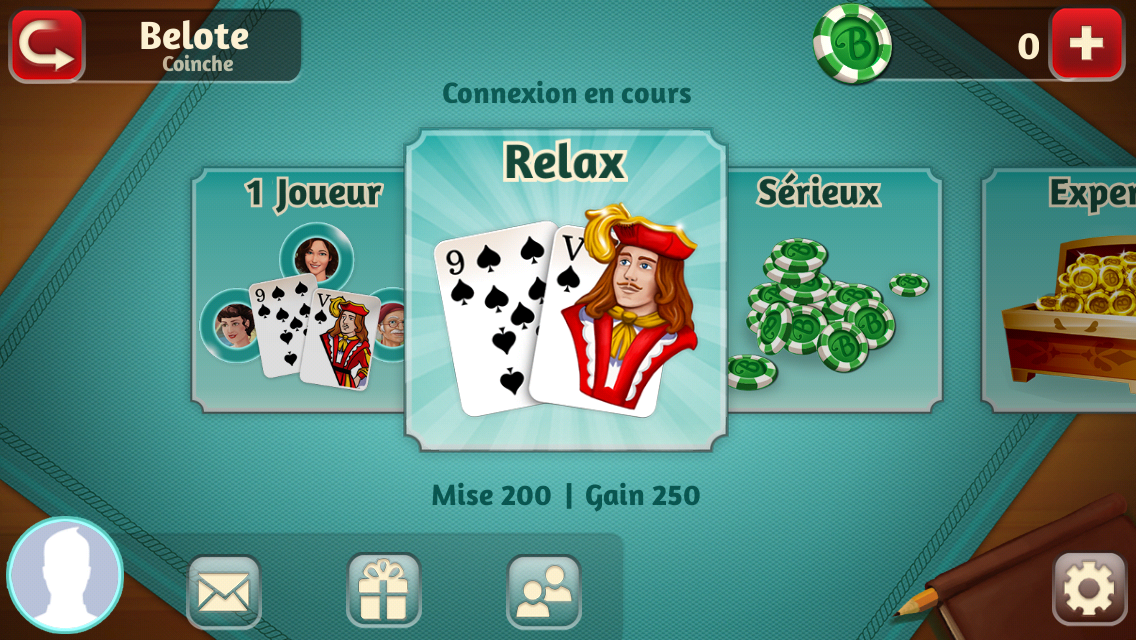 jeux belote coinche