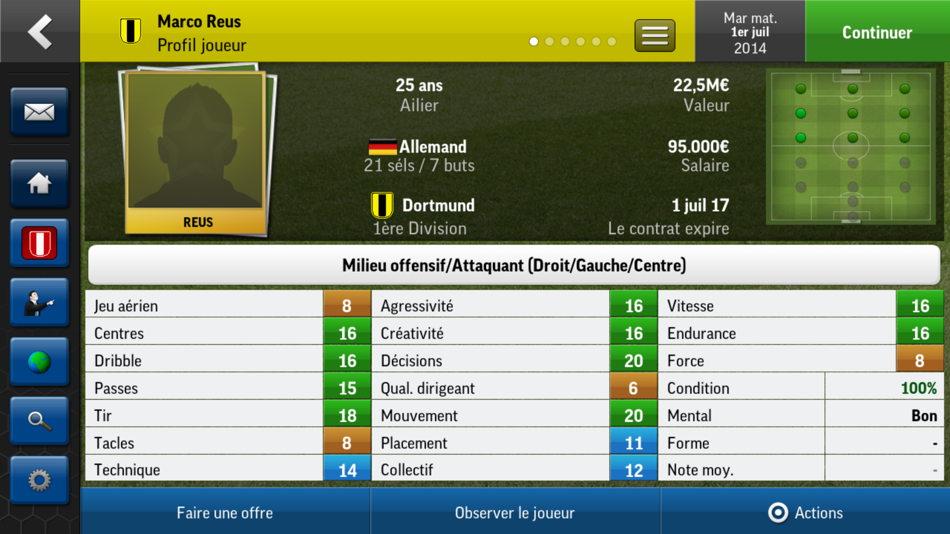 Football Manager Handheld 2015 iPhone-4