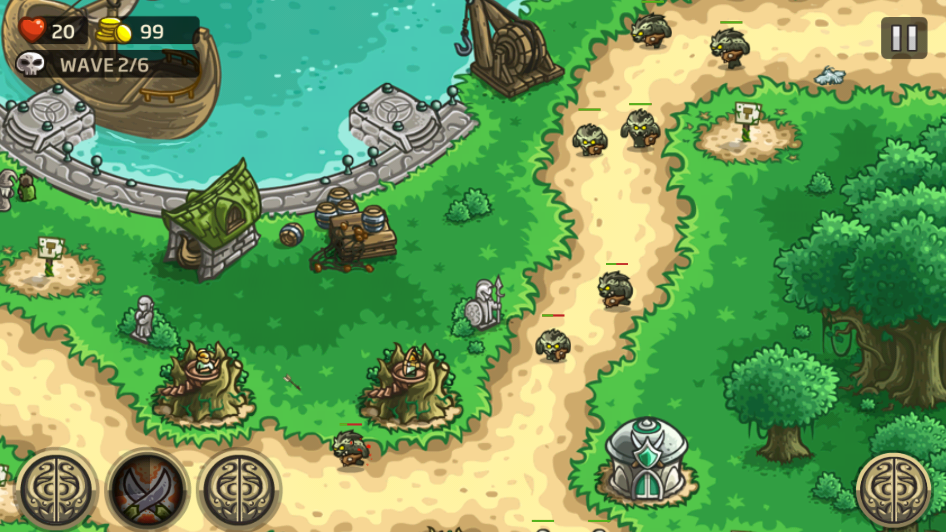 Kingdom Rush Origins Android 17/20 (test, photos, vidéo)