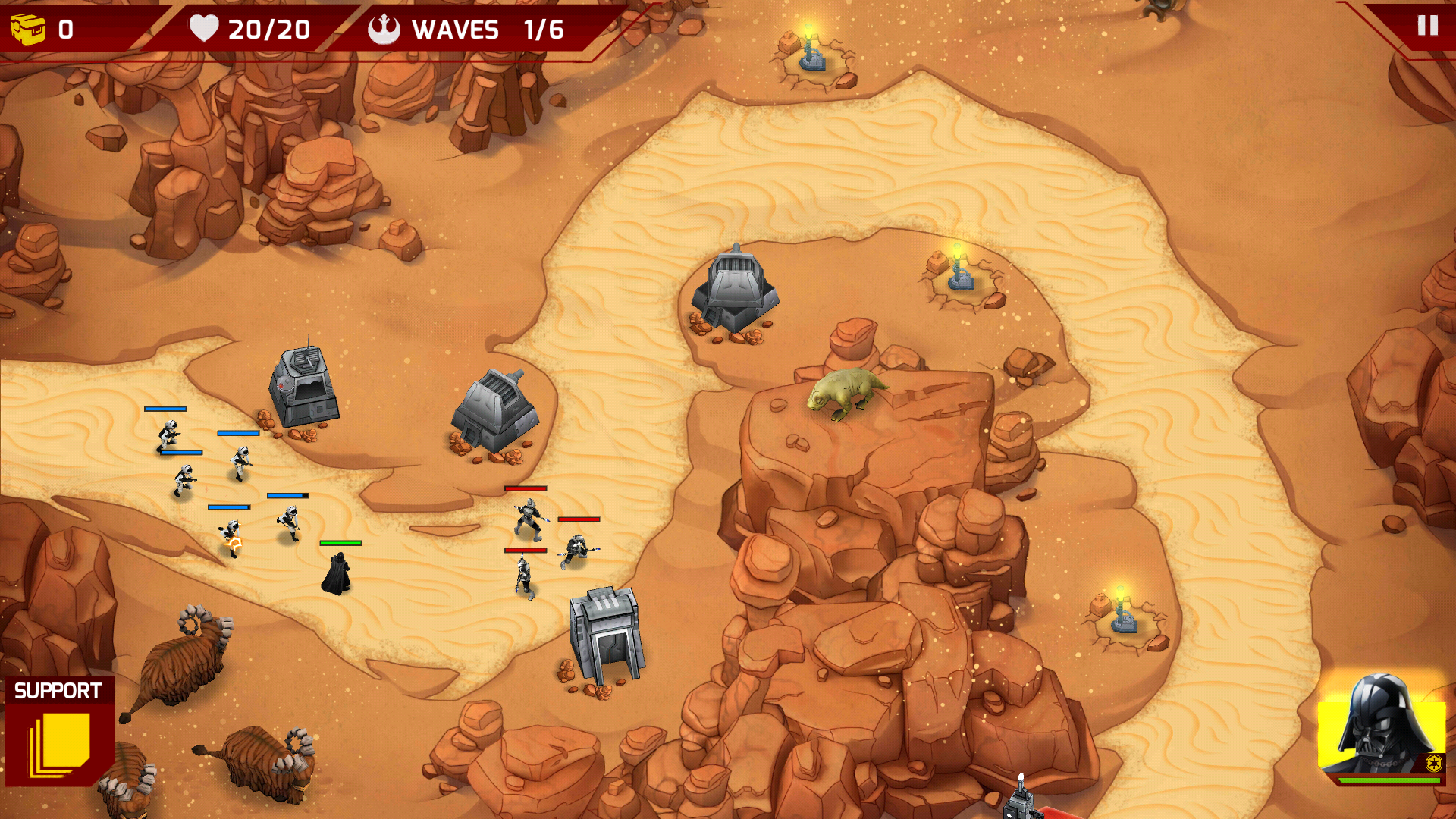 Star Wars Galactic Defense v2.2.1 + Mod APK - Unlimited ...