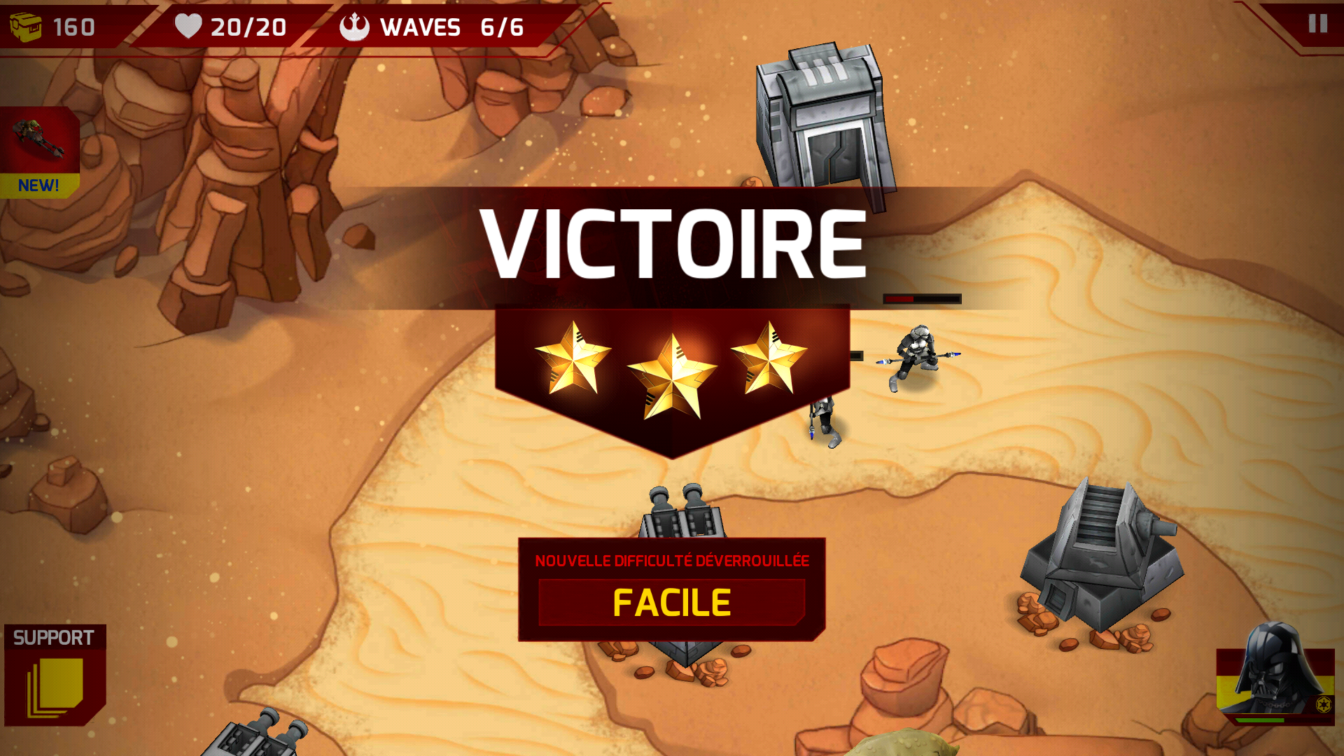 Star Wars ™: Galactic Defense - sameapk.com