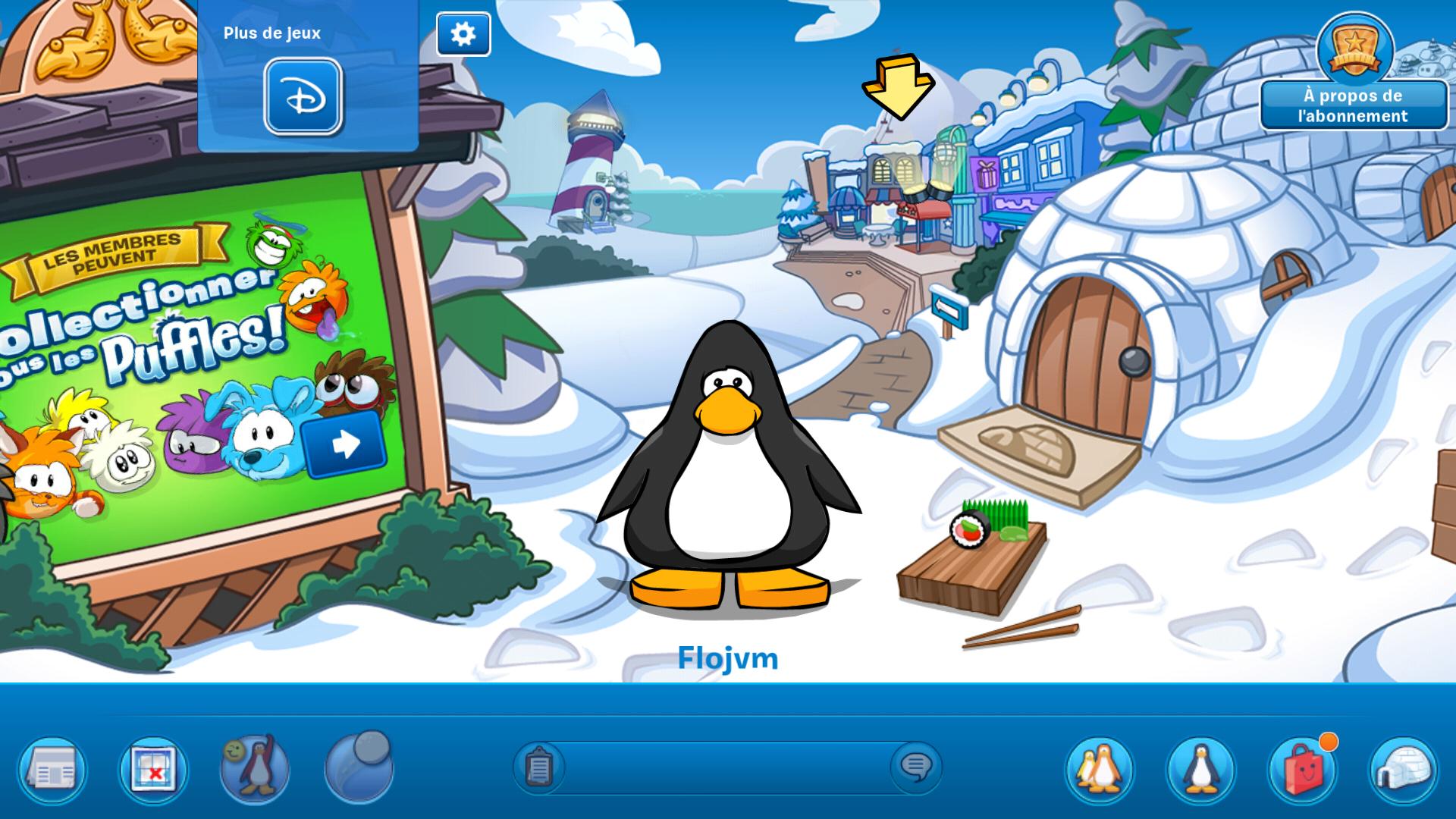 Club penguin android 16 20 test photos vid o - Jeux de club penguin gratuit ...