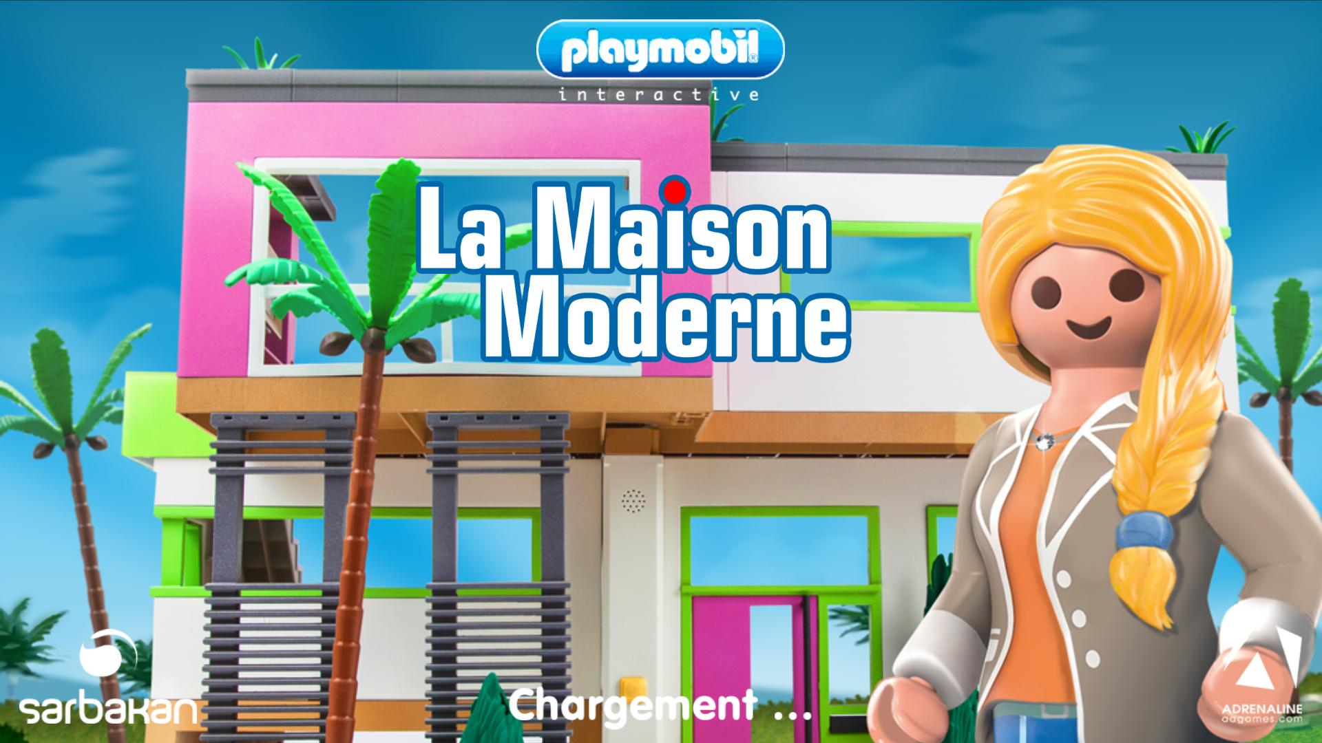 Prix maison playmobil for Maison moderne jeu