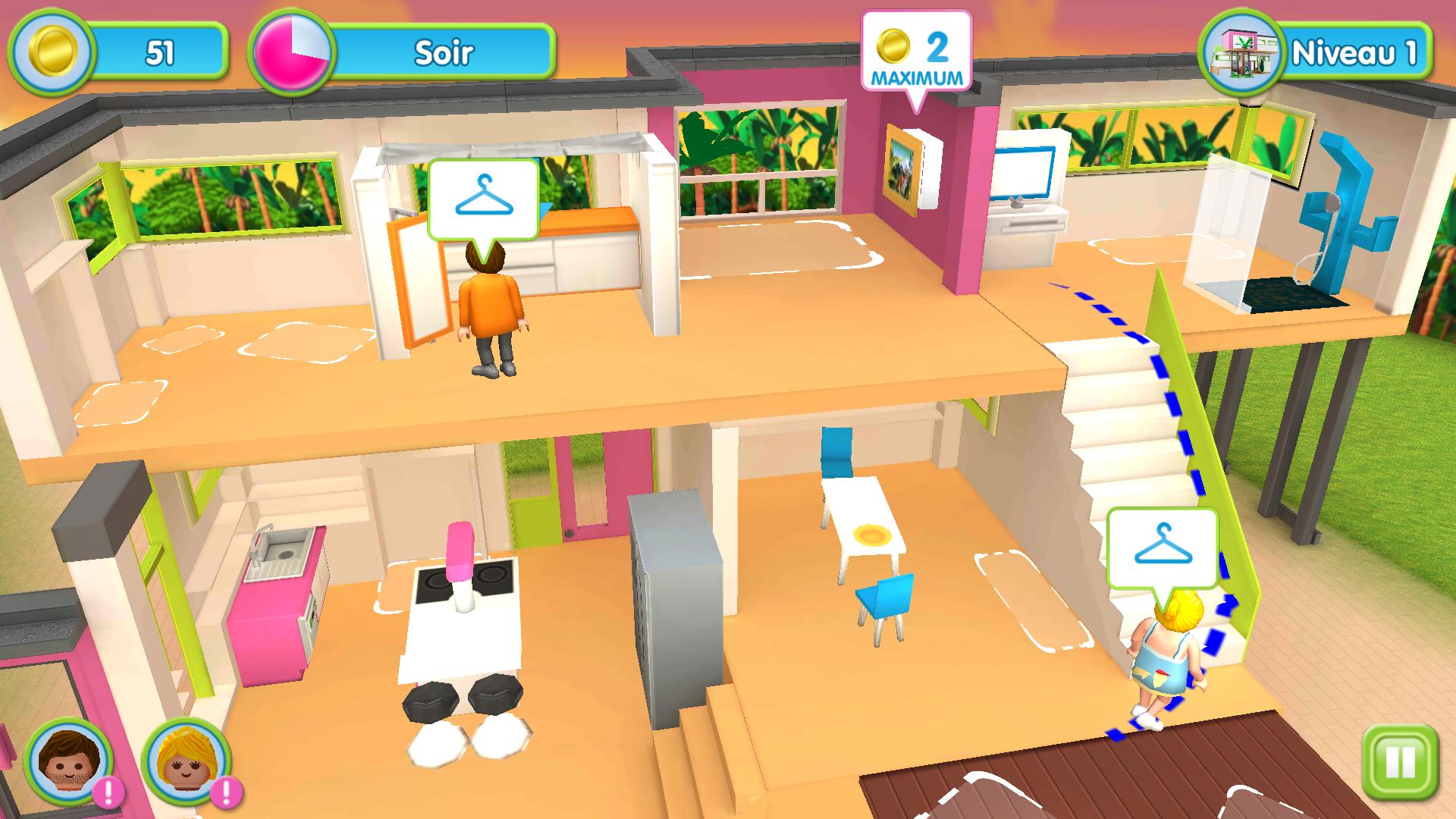 La maison moderne Playmobil Android 16/20 (test, photos)