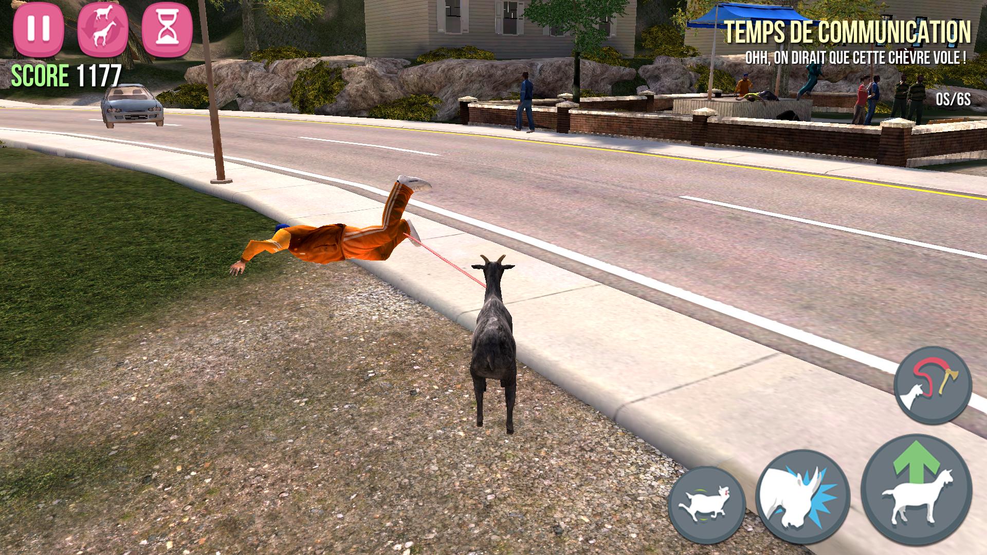 Goat Simulator iPhone-8