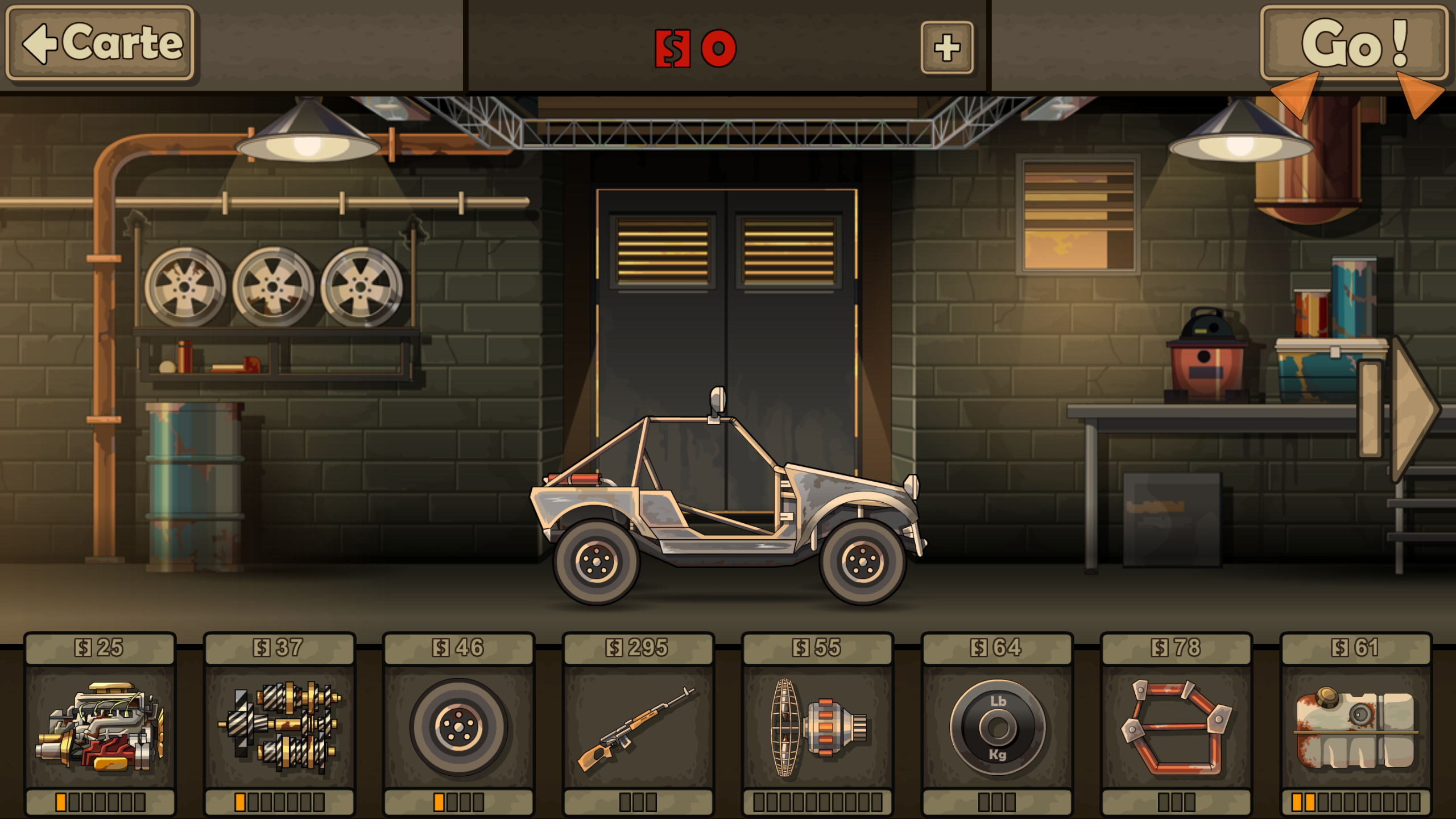 jeux de voiture zombie earn to die 2