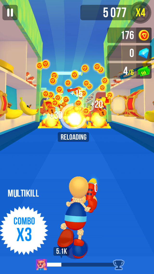 jeux vidéo mobileSuper Run with Buddyman