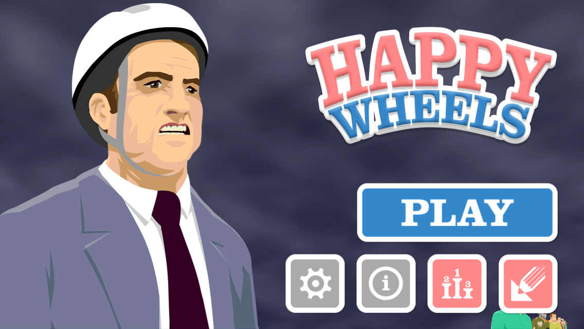 happy wheels i