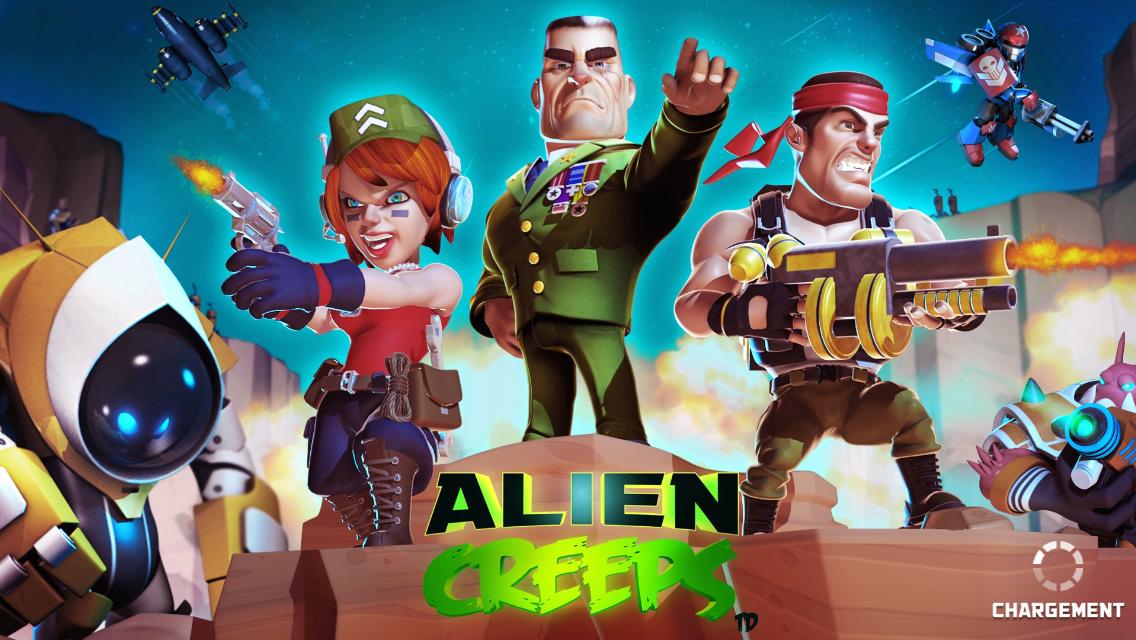Alien Creeps TD-1