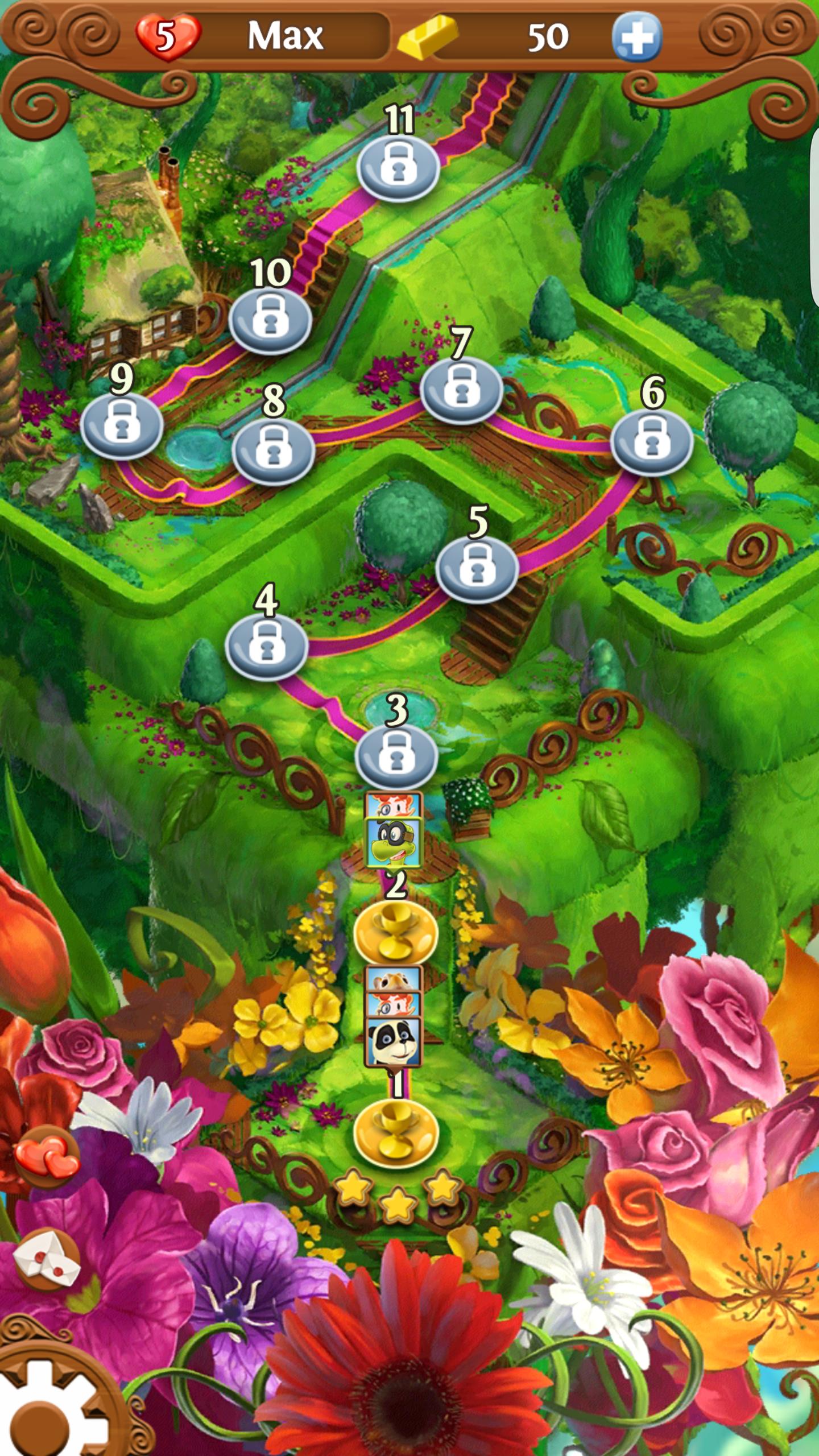 Blossom Blast Saga Android-4