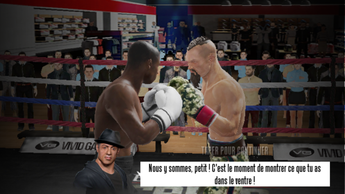 Real Boxing 2 CREED iPhone 18/20 (test, photos, vidéo)
