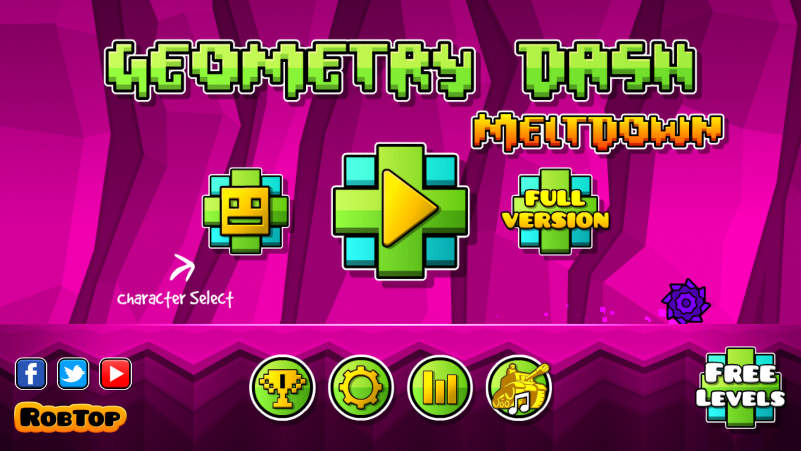 Geometry Dash Meltdown-1