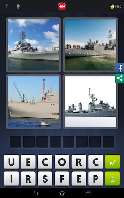 bateau 5 lettres