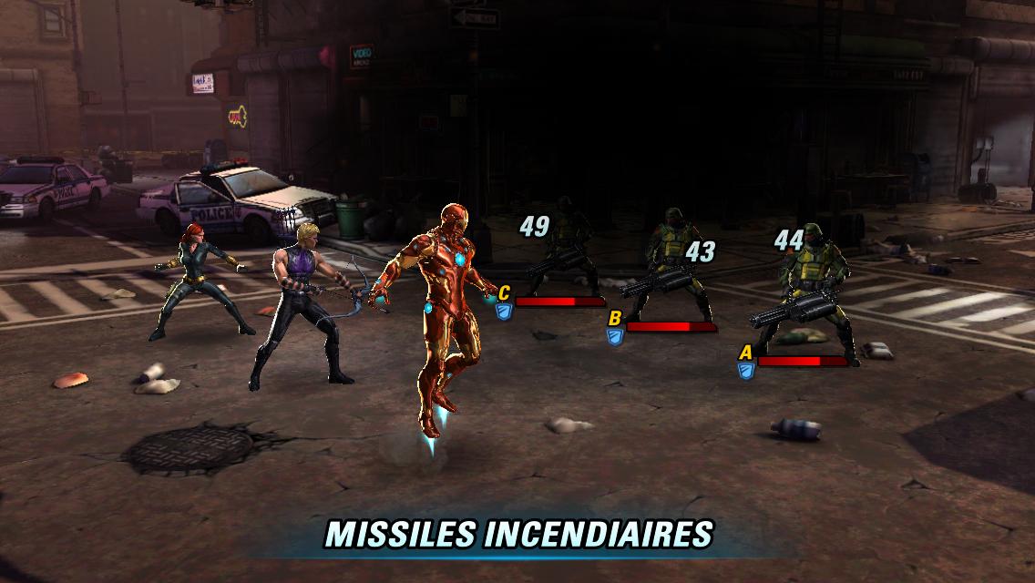 Marvel Avengers Alliance 2-4