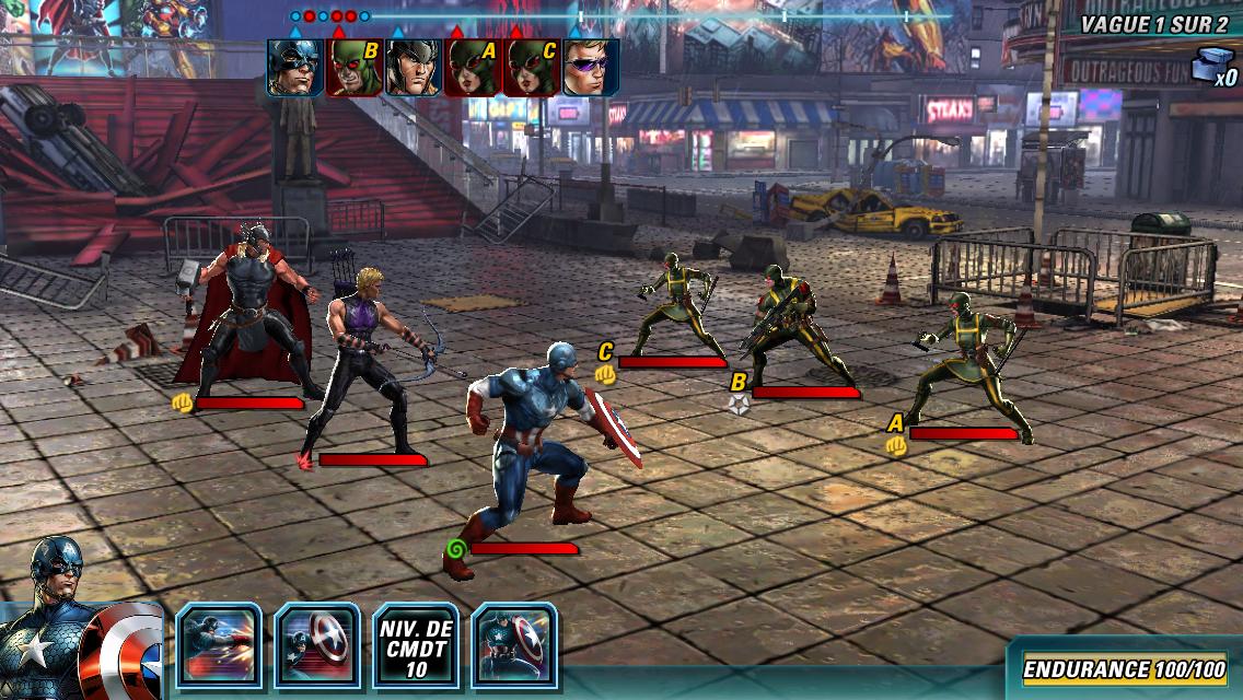 Marvel Avengers Alliance 2-6