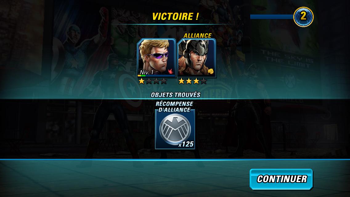 Marvel Avengers Alliance 2-7