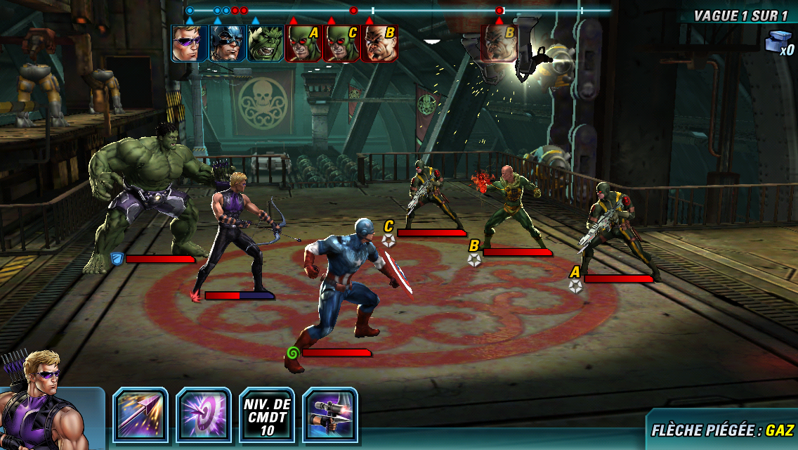 Marvel Avengers Alliance 2-8