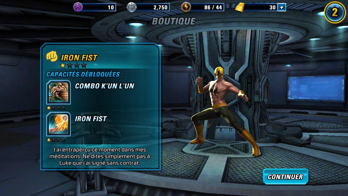 Marvel Avengers Alliance 2-9