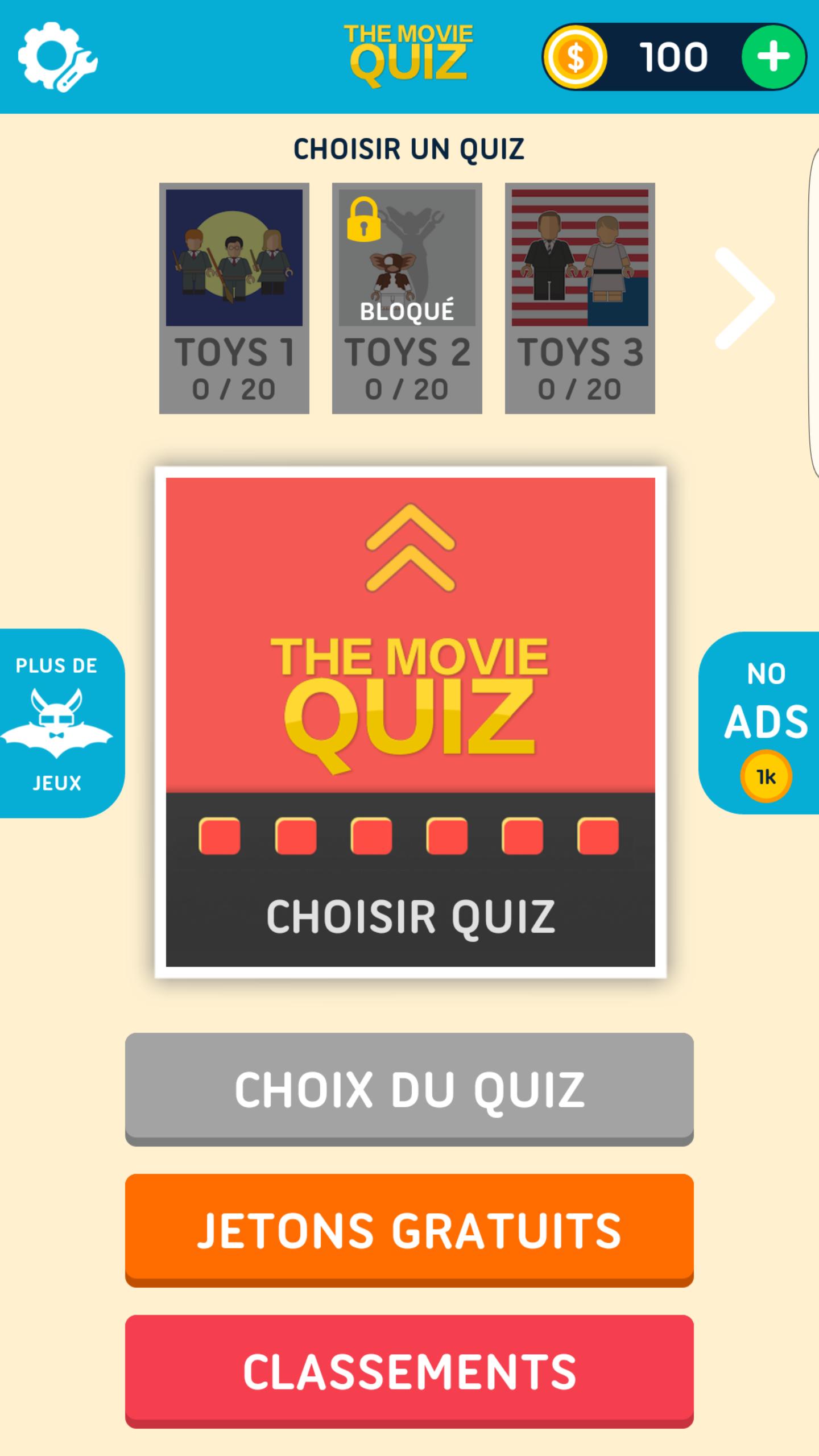 Movie Quiz Films et séries TV-1