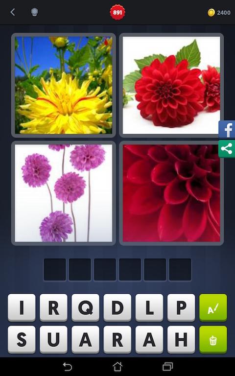 4 images 1 mot fleurs jaune rouge violet android - Plante a fleur jaune 6 lettres ...