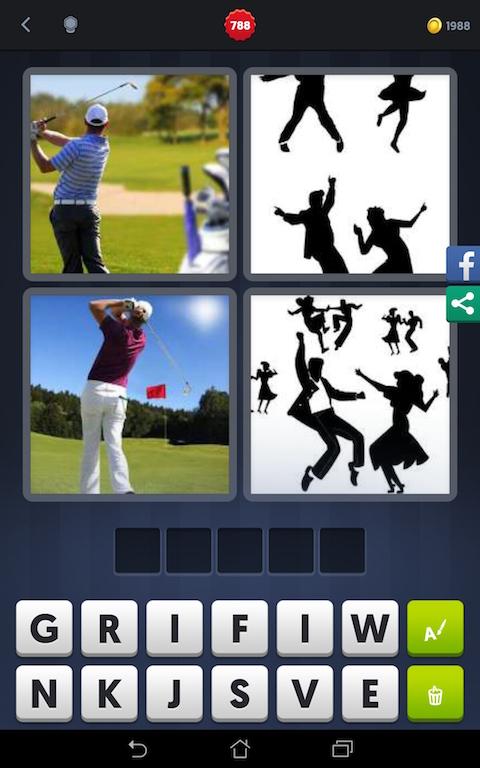 4 Images 1 Mot Golf Danse Gazon Rock Android Iphone