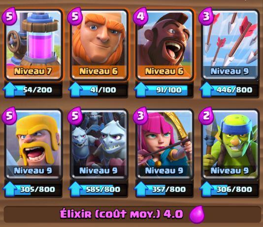 Clash Royale Meilleur deck