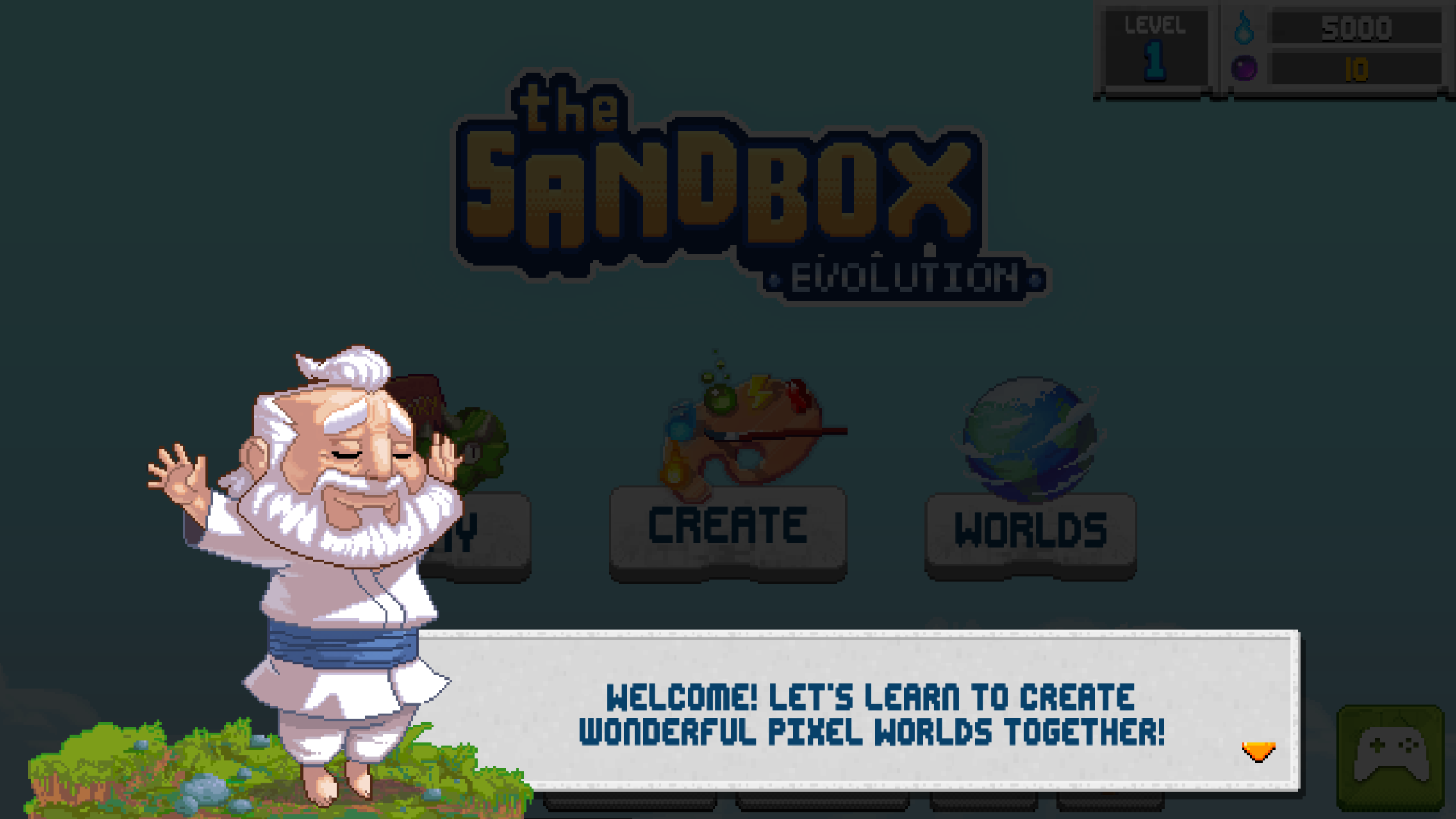 The Sandbox Evolution-1