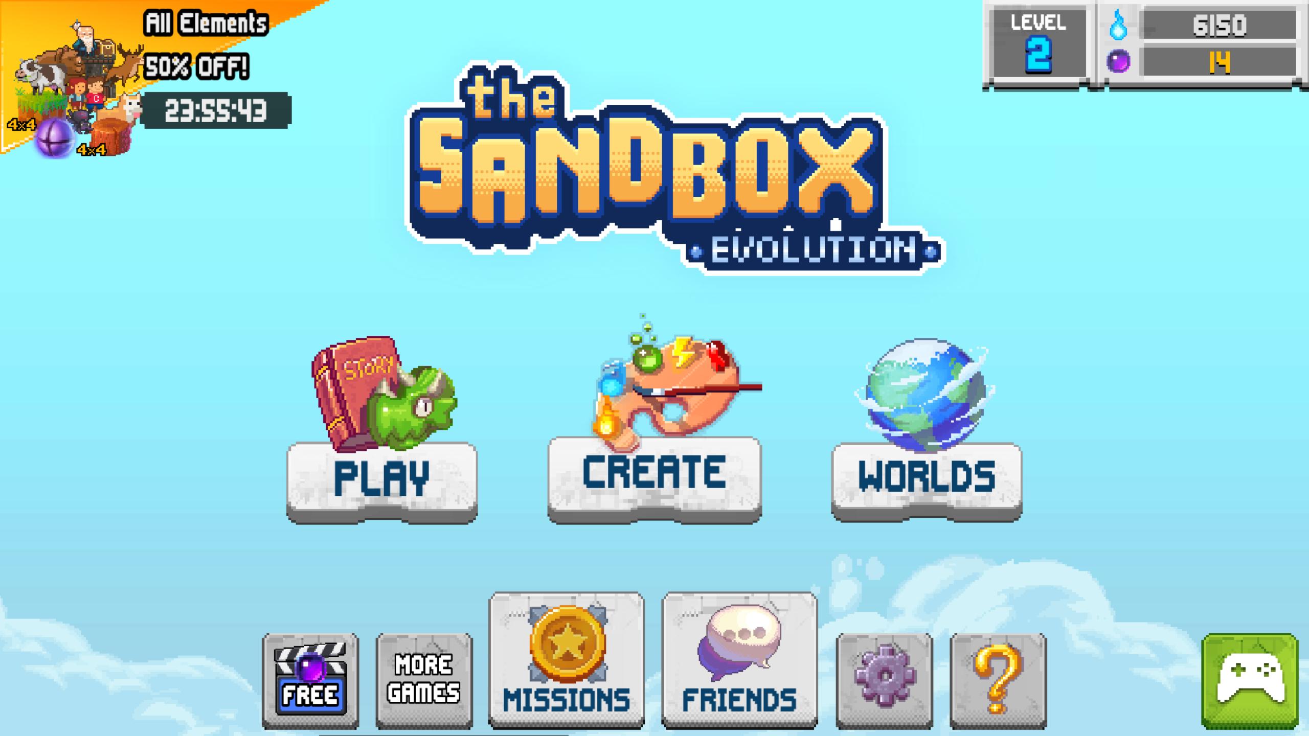 The Sandbox Evolution-5