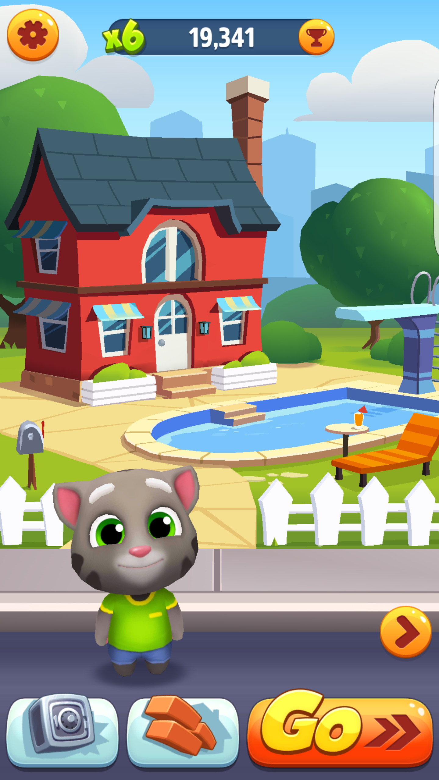 talking tom course l or android 17 20 test photos. Black Bedroom Furniture Sets. Home Design Ideas