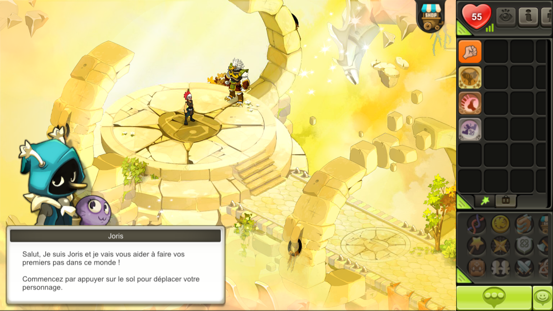 Dofus touch iphone 17 20 test photos vid o for Dofus le jeu