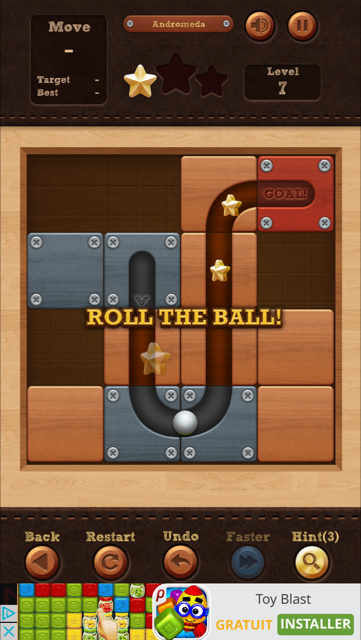 roll the ball gratuit