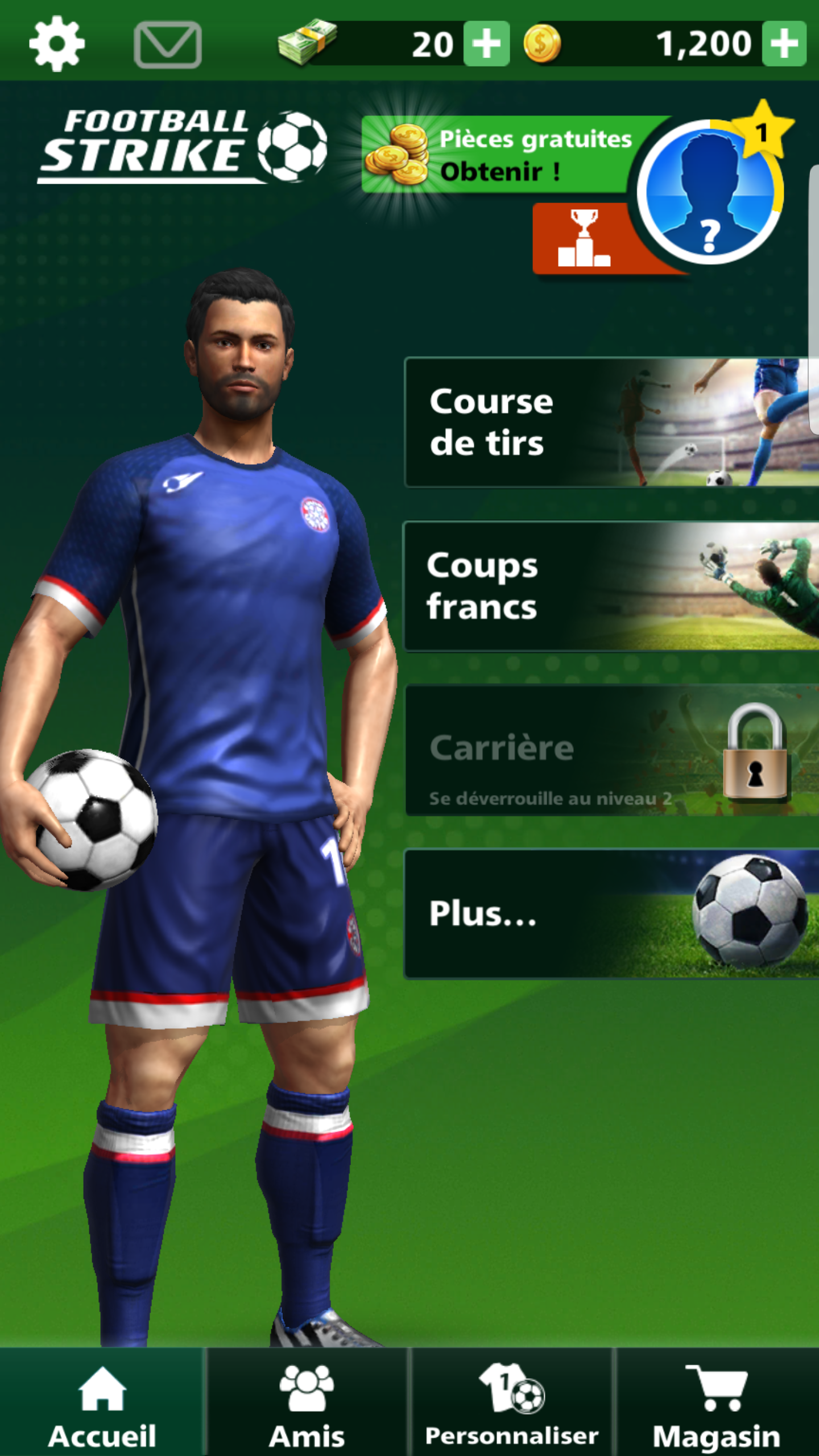 jeux football android