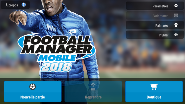 Bug football manager 2018 rencontrez votre staff